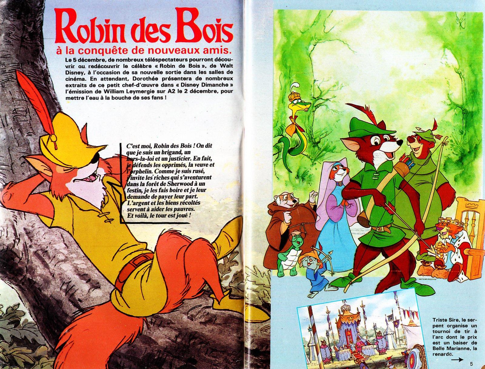 Robin Des Bois Walt Disney images ~ Walt Disney Robin Des Bois